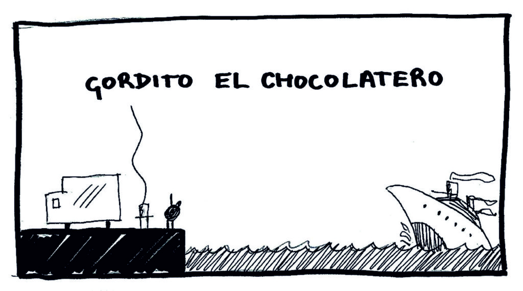 Gordito el Chocolatero